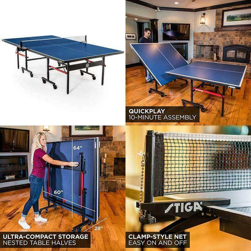 Stiga Advantage Competition-Ready Indoor Table Tennis Table_S