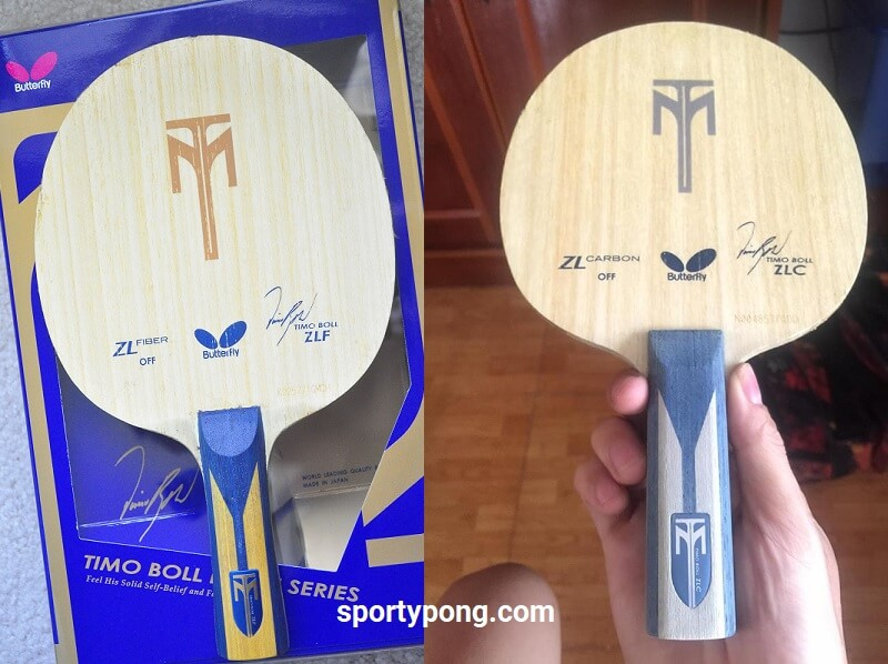Butterfly Timo Boll ZLC Vs ZLF review full comparison